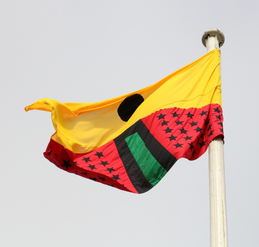 Pan African Flag for the Relic Travellers' Alliance-13 low